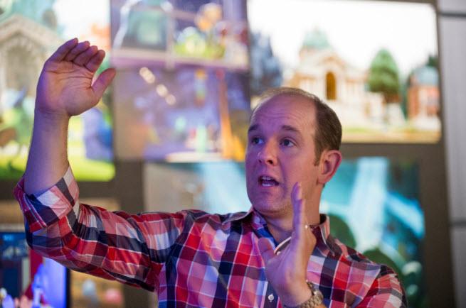 Pixar animator Scott Clark