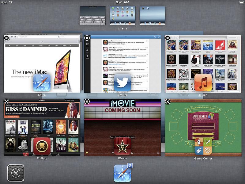 iOS 7 concept screen