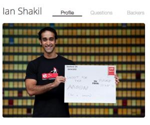 """Upstart"" entrepreneur Ian Shakil"