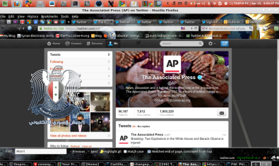 syrian electronic army ap hack