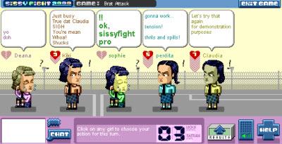 sissyfight game screen 2