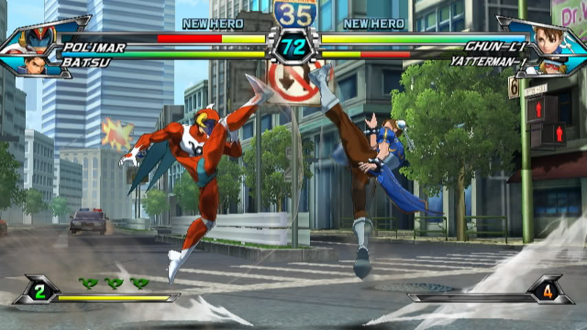 Tatsunoko Vs. Capcom ©  CAPCOM CO., LTD. 2010