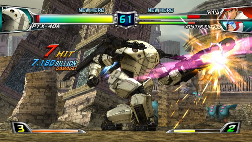 Tatsunoko vs. Capcom giants