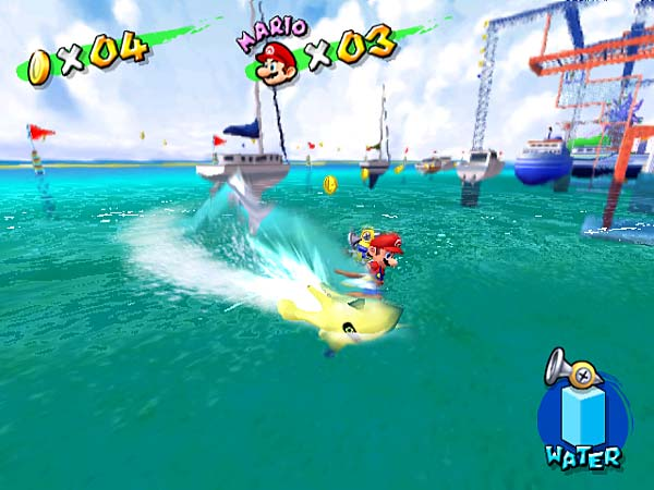 Super Mario Sunshine was the only game in the main series for an extended stretch early last decade.