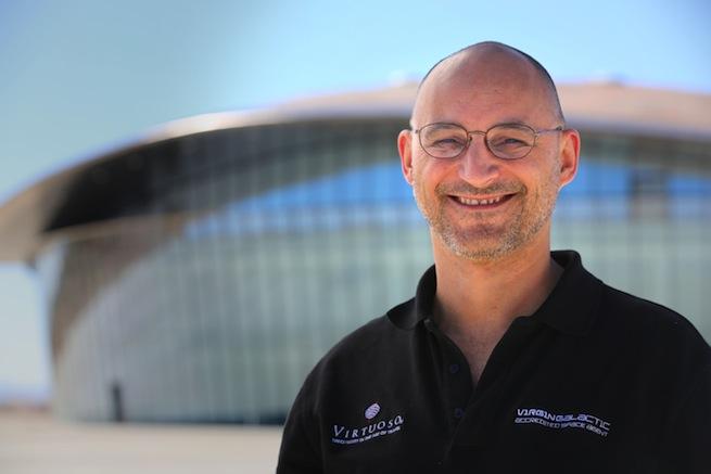 Tony Cardoza at Spaceport America (1)