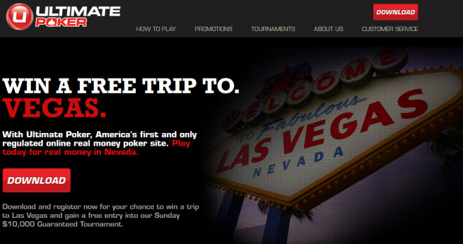 UltimatePoker com goes live as the first real-money online