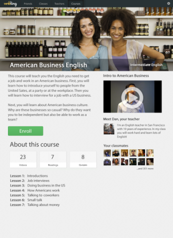 Verbling Courses