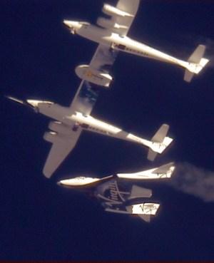 GF01  Glide Flight- 1st test flight of SpaceShip2