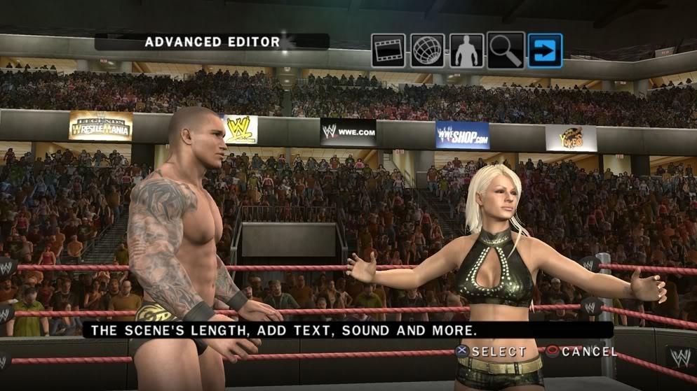 Smackdown vs. Raw 2010's story editor... kinda.
