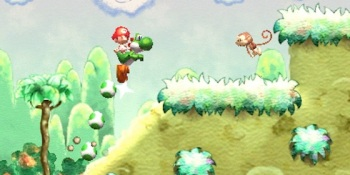 Here's a quick look at Yoshi's Island for the 3DS