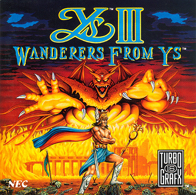 Ys III Cover for the TG-16 version
