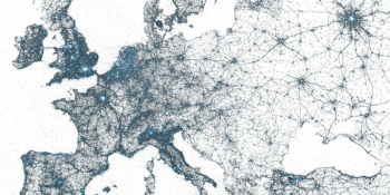 Twitter paints the world with your geo-tagged tweets