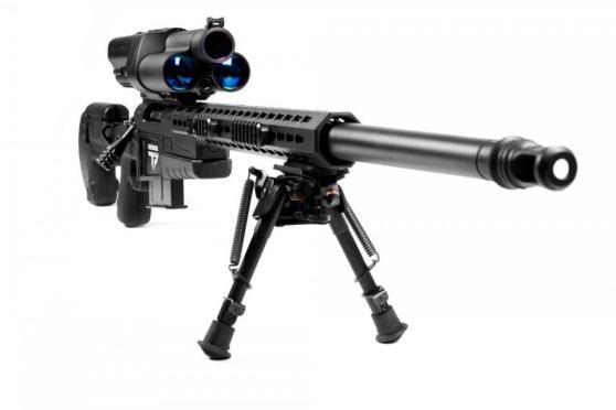 XS1 is the largest-caliber Precision Guided Firearm (PGF) available today.