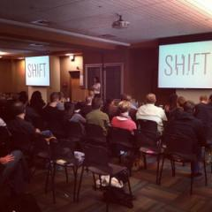 A meeting of SHIFT residents (via the Facebook page)