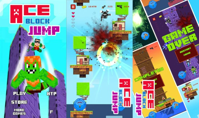 Ios Game Borrows Assets From Fez And Minecraft Venturebeat
