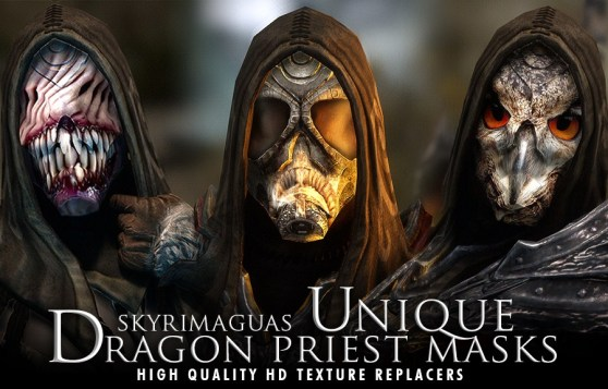 GamesBeat's Favorite Skyrim Mods #10: Unique Dragon Priest Masks