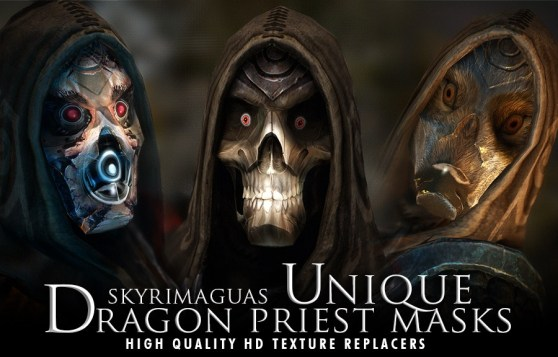 Skyrim: Unique Dragon Priest Masks 2