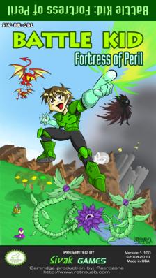 Battle Kid NES Cover Art