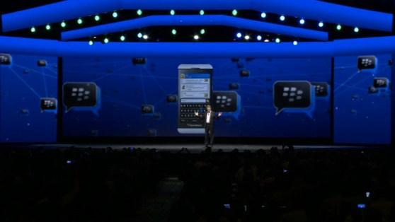 BlackBerry Messenger live