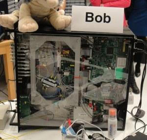 """""""Bob"""" receives quantum communications"""