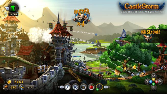 CastleStorm offers fun, sheep-driven destruction and