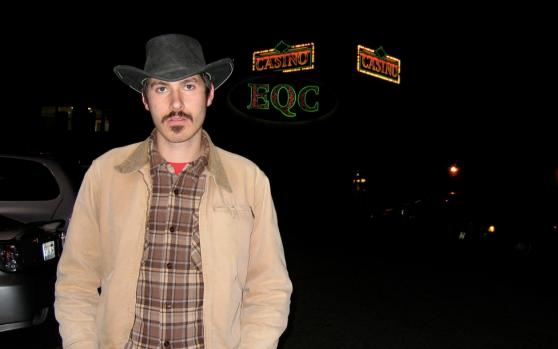 Jones often has to visit casinos in disguise to throw off dealers.