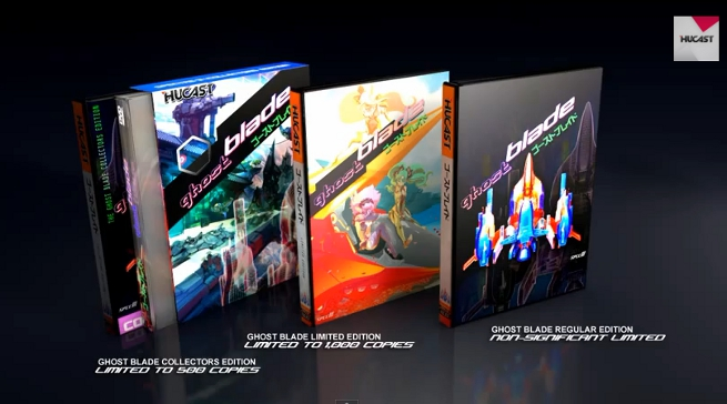 Ghost Blade retail editions