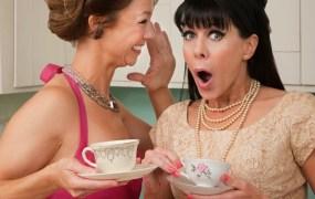 girls gossiping