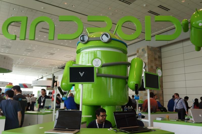 A serious Android at Google I/O 2013.