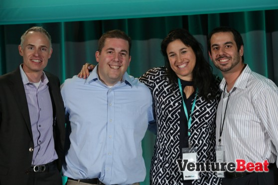 Winners and judges of the Grand Rounds competition at HealthBeat 2013