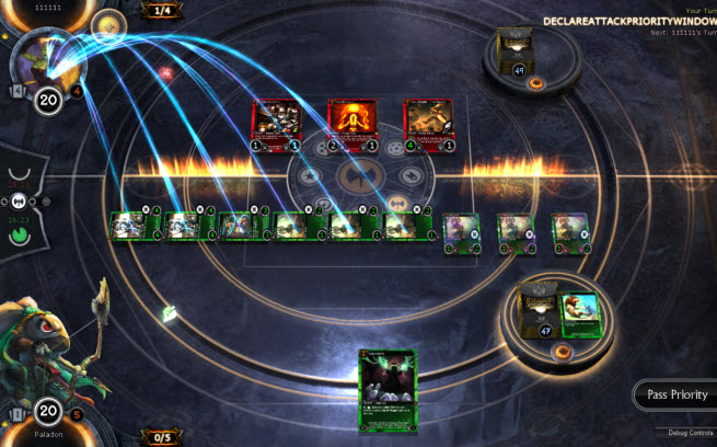 trading in massively online game makes It teams up with topps to launch the first trading card game to debut online and sony's online card trick a sony massively multiplayer online role -playing.