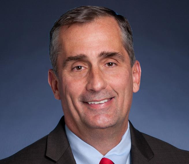Intel CEO Brian Krazanich