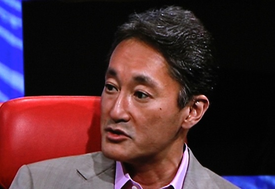 Kazuo Hirai, president and CEO of Sony