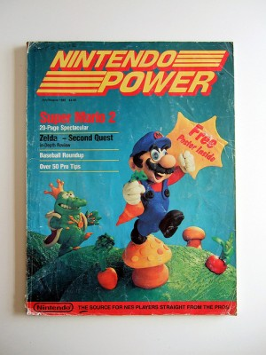 Nintendo Power magazine NES