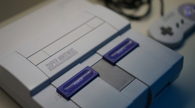 SNES North American model close-up