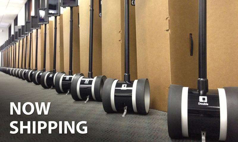 double robotics shipping