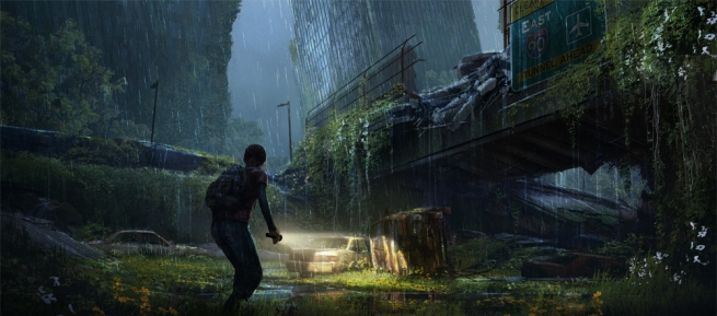 The Last of Us -- overpass concept art