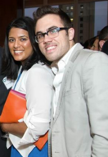 Enstitute's founders at the NEXT Leader of the Future award ceremony