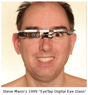 Steve Mann's computer-assisted vision system