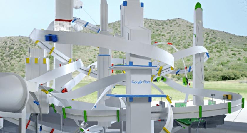 Google fiber ad