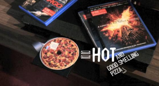 dvd pizza domino's