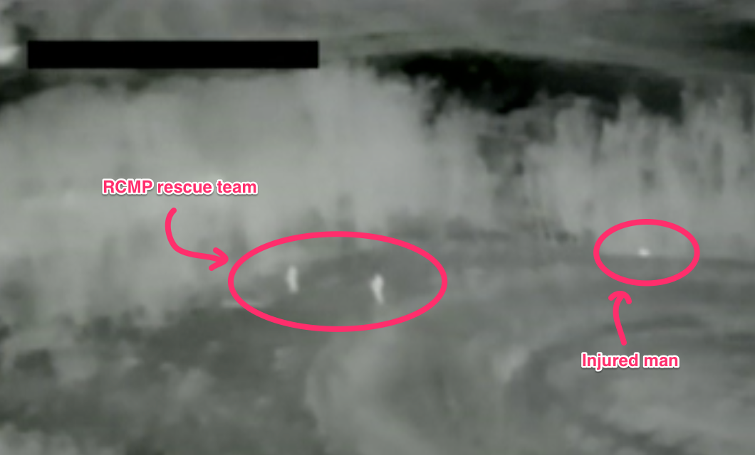 drone thermal imaging with Mounties Save Their Man With A Draganflyer Uav Drone Aircraft on Industrial Inspections further Dji And Flir Systems Collaborate To Develop Aerial Thermal Imaging Technology also Night Vision Drones  ing Dji Flir Dont Try Home together with FLIRNews moreover South Korea Installing Thermal Sights On Its Vulcan Anti Aircraft Guns For Good Reason.