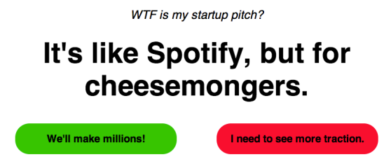 It's like Spotify, but for cheesemongers