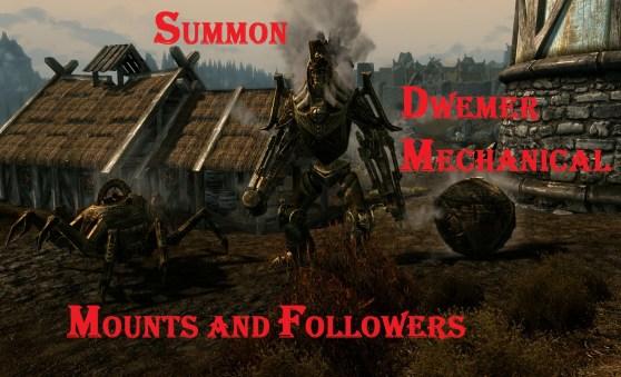 Skyrim: Dwemer Followers
