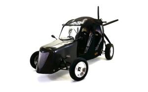 One model of the Maverick flying car