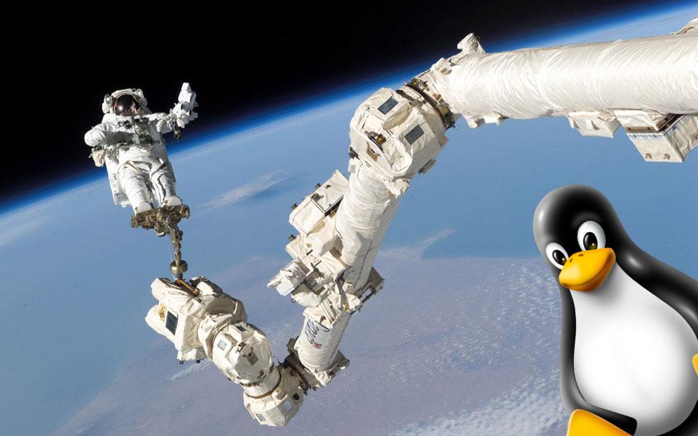 tux is my astronaut