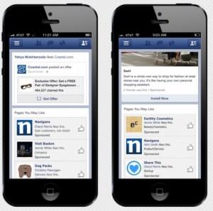 Facebook app install