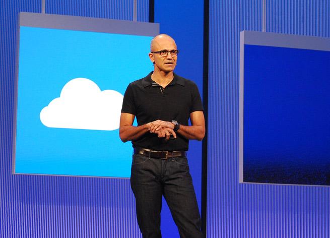 Microsoft chief executive Satya Nadella in 2013.