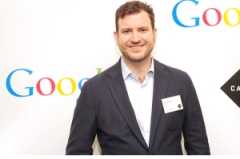Google London's campus head Eze Vidra