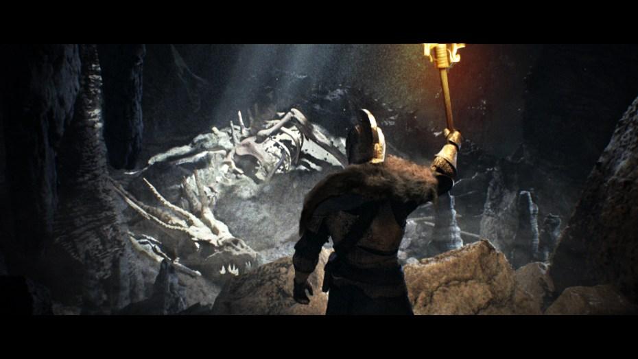 Dark Souls 2 dead dragon
